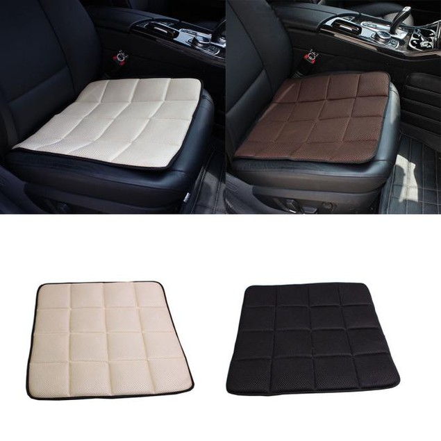 Bamboo Charcoal Breathable Seat Cushion Cover Pad Mat For Car Office Chair