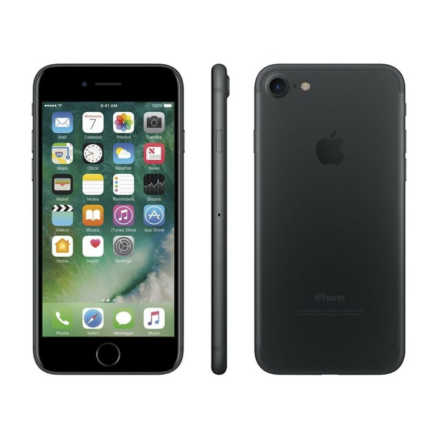 Apple iPhone 7 32GB Factory GSM Unlocked T-Mobile AT&T 4G LTE Smartphone Black