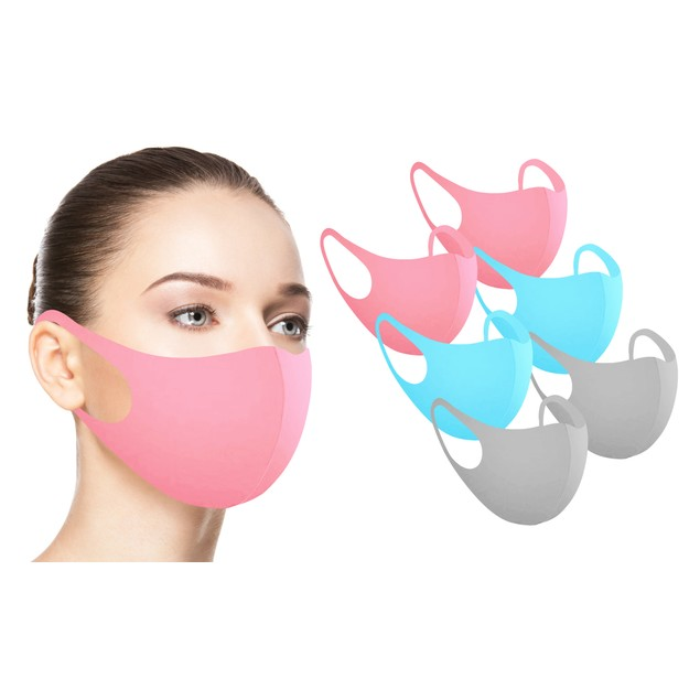 Reusable Fabric Face Masks (6-Pack)