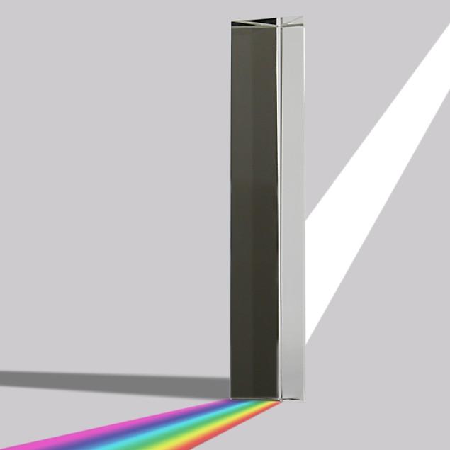 K9 Crystal Clear Glass Prism | MandW