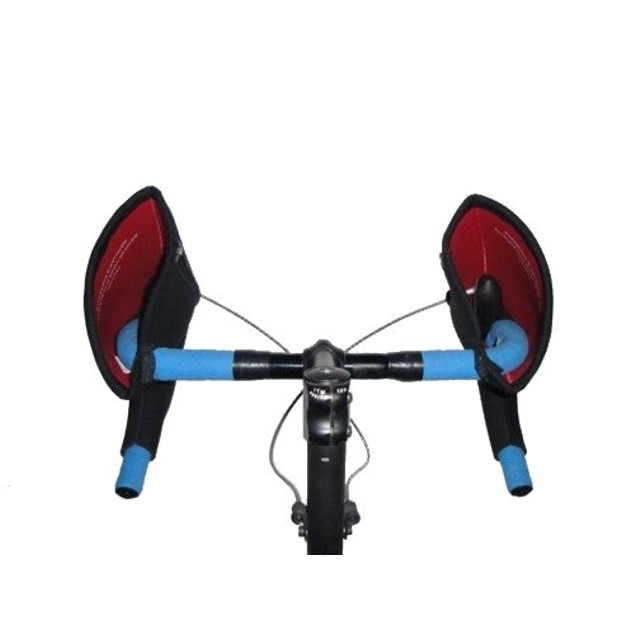 Bar Mitts Shimano For Externally Routed Cables, Black - Small