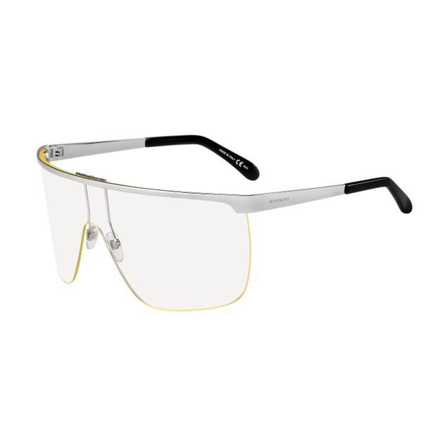 Givenchy Women Sunglasses GV7117S 0GKZ Crystal Palladium 99 1 125 Square
