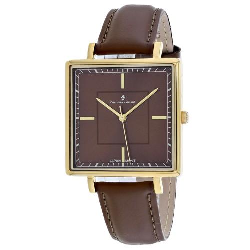 Christian Van Sant Women's Callista Brown Dial Watch - CV0416