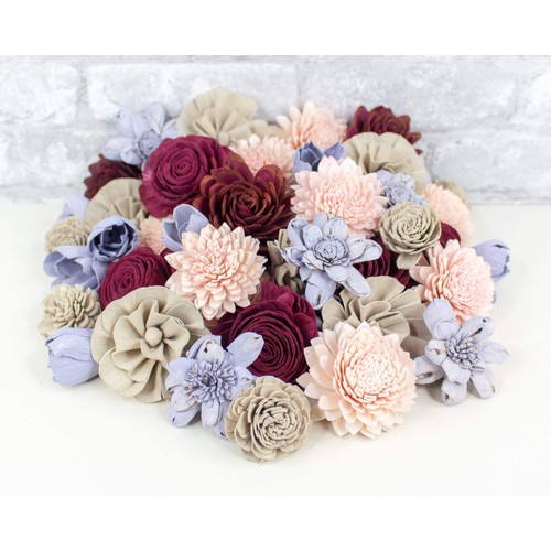 Sola Wood Flowers Twitterpated Assortment 25/50 Pack