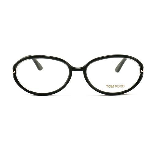 Tom Ford Eyeglasses FT5212 001 Black 55 16 130 Plastic