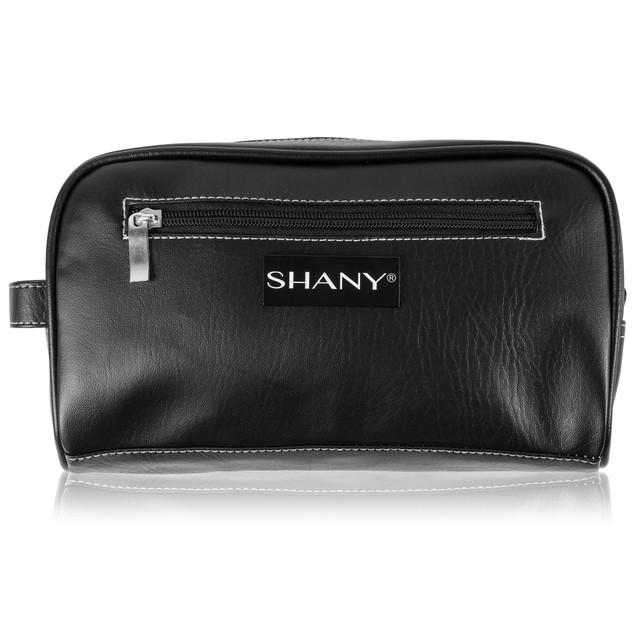 SHANY Travel Toiletry Bag and Dopp Kit - BLACK
