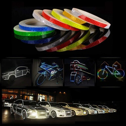 8 Meter Bicycle Electric Car Motorcycle Reflective Sticker