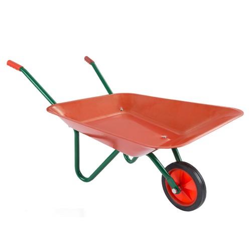 Kids Wheelbarrow Garden Tool-Mini Toy Wheelbarrow For Pretend Play