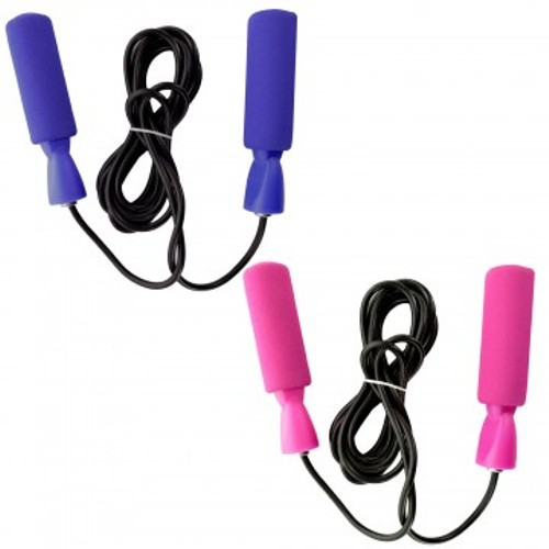 2-Pack Soft Grip 8ft Workout Jump Rope