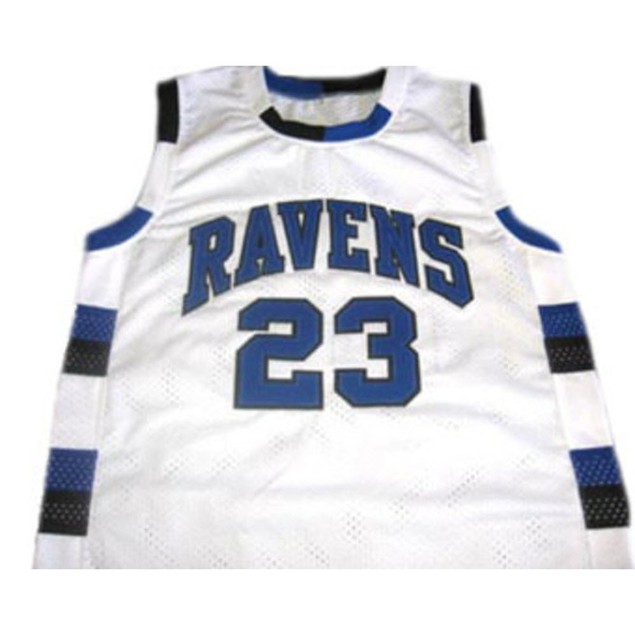 Nathan Scott #23 White Basketball Jersey