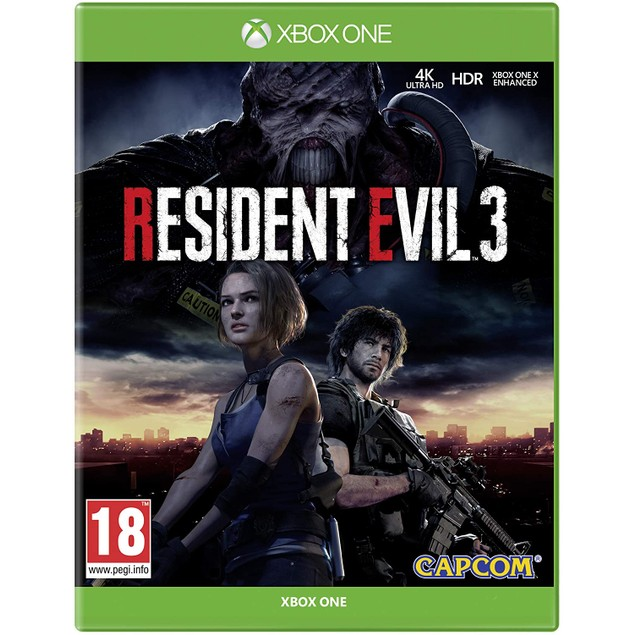 Resident Evil 3 Remake Xbox One Game