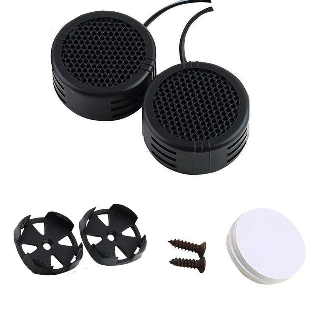 2 x 500 Watts Super Power Loud Dome Tweeter Speakers for Car 500W