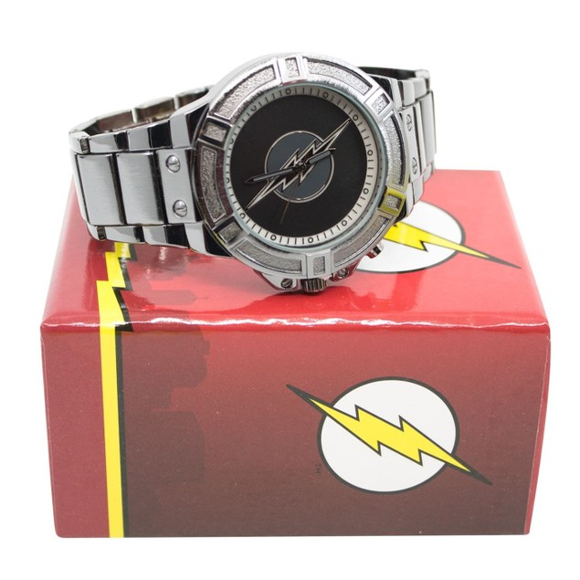 Reverse Flash Zoom Backlight Symbol with Metal Band
