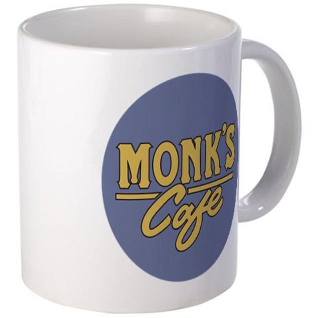 Monk's Cafe 11 oz Coffee Mug