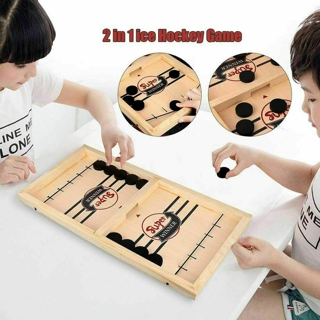 Fast Sling Puck Board Game (Large Edition)