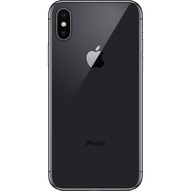 Apple iPhone X, AT&T, Grade A, Gray, 256 GB, 5.8 in Screen