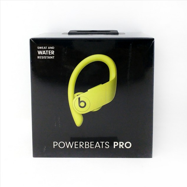 Powerbeats Pro Wireless Earphones Sweat Resistant Ear buds - Spring Yellow