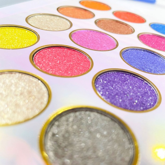 18 Colors Colorful Mashed Potatoes Full Pearl Eyeshadow Makeup Palette