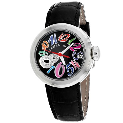 Locman Men's Classic Black Dial Watch - 340CBKMULDNBK