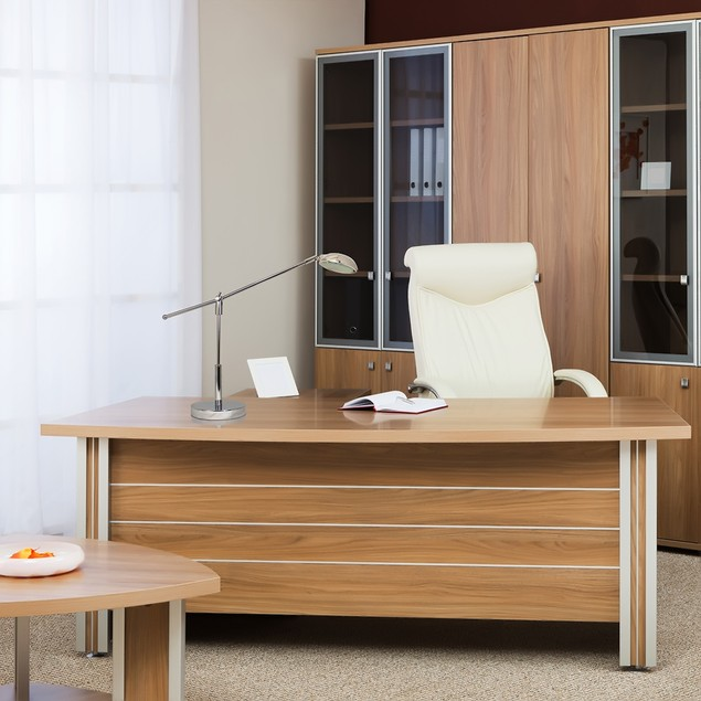 Simple Designs 3W Balance Arm LED Desk Lamp with Swivel Head - Chrome