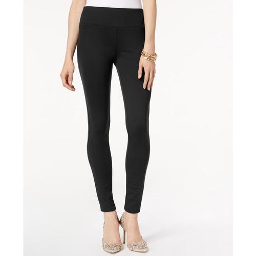 INC International Concepts Women's Petite Seamless Leggings Black Size 6