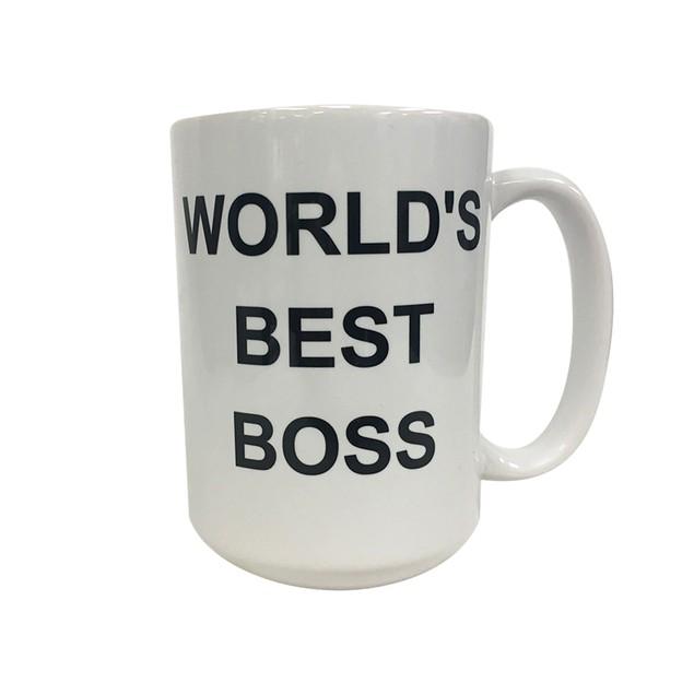Michael Scott's World's Best Boss 15 oz Coffee Mug