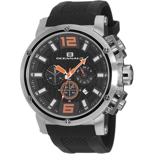 Oceanaut Men's Spider Black Dial Watch - OC2123