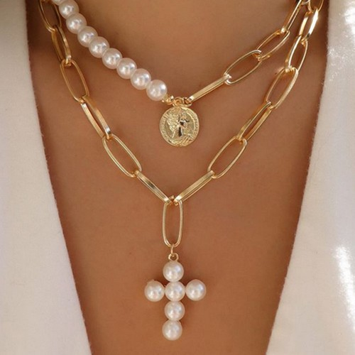 Creative Retro Style Cross Necklace