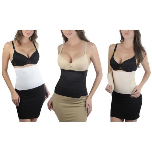 ToBeInStyle Women's Waist Cinching Tummy Wrap Postpartum