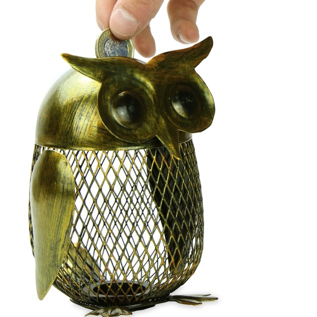 Owl Money Box | Pukkr