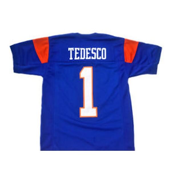 Harmon Tedesco #1 Blue Football Jersey