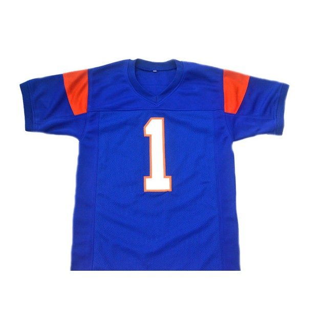 Harmon Tedesco #1 Blue Football Jersey