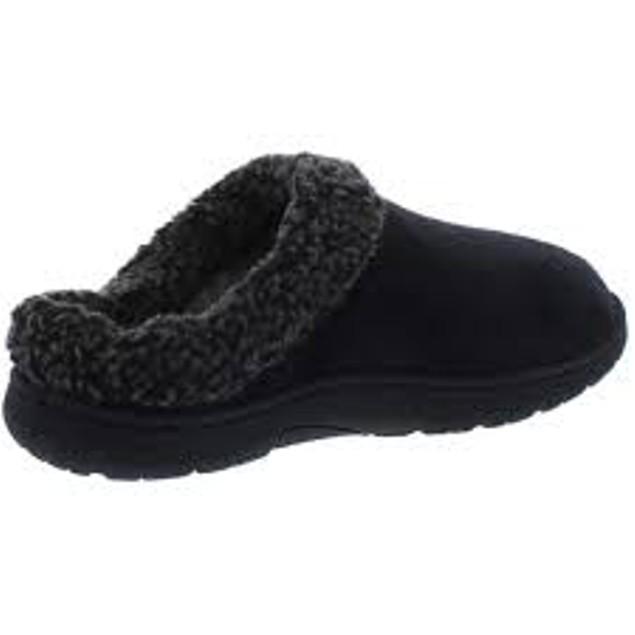Weatherproof Vintage Men's Slippers Black Size Medium