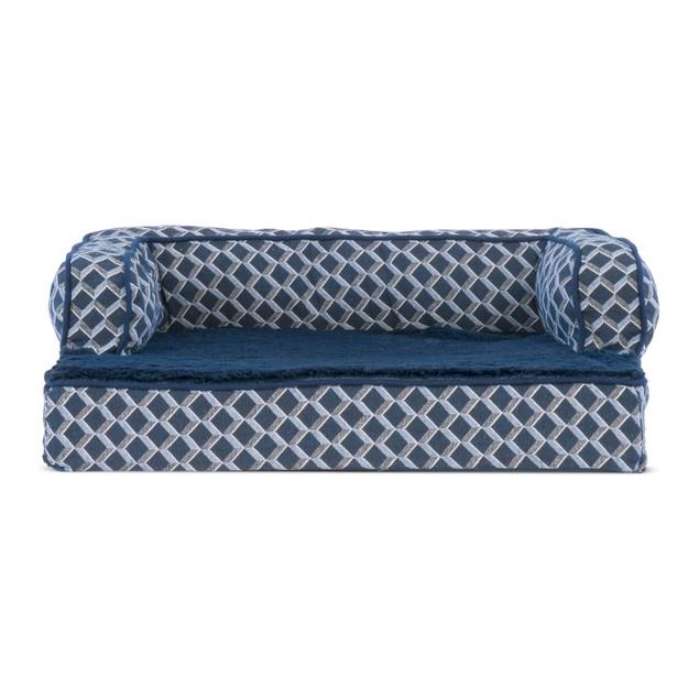 FurHaven Plush & Decor Comfy Couch Memory Foam Sofa Pet Bed