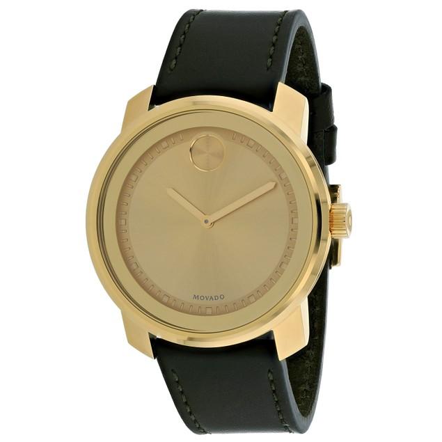 Movado Men's Bold Gold Dial Watch - 3600674