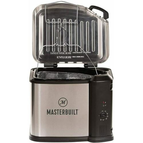 Masterbuilt Electric 3-in-1 Multi-Cooker w/ Basket MB20010118 (Deep Fryer, Steamer, Cooker)