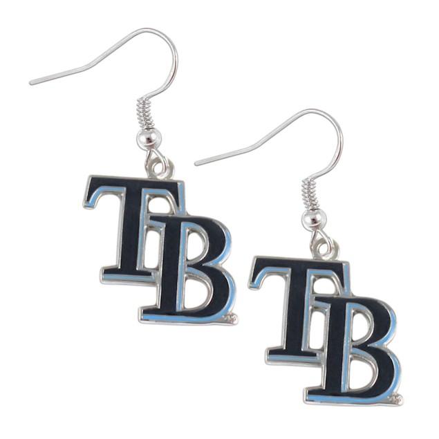 TAMPA BAY RAYS MLB Dangle Logo Charm Earring Set