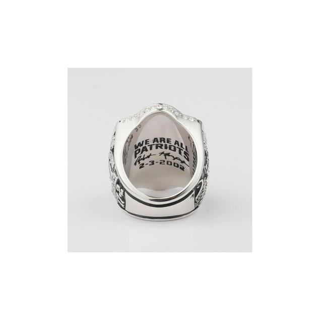 Patriots Championship Handmade Ring 50.6grm