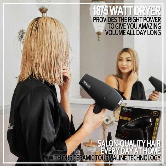 TRESemme Hair Dryer Beauty TRES-8902, Black