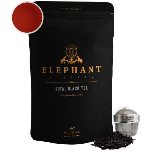 Flowery Ceylon Black Tea (Ceylon Mountain Tea) | Loose Leaf Black Tea
