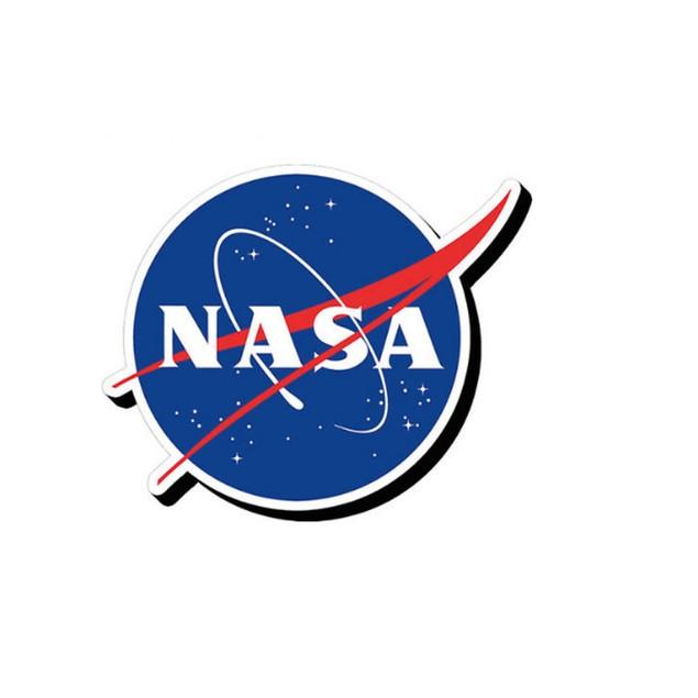 NASA Logo Chunky Magnet Fridge Space Moon Gift Refrigerator Gift