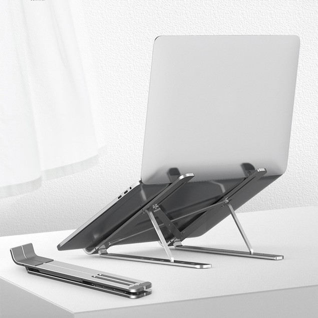 Foldable Laptop Stand Adjustable Portable Aluminum Notebook Stand Holder