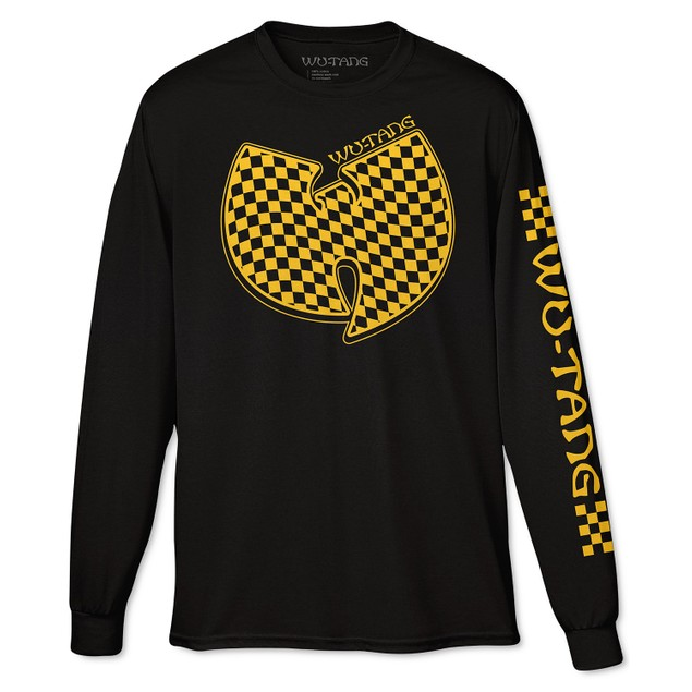 Fea Men's Wu Tang Clan Long-Sleeve T-Shirt Black Size Medium