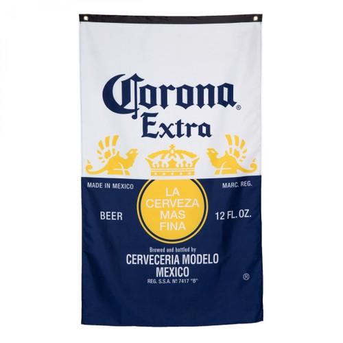 Corona Bottle Label Flag