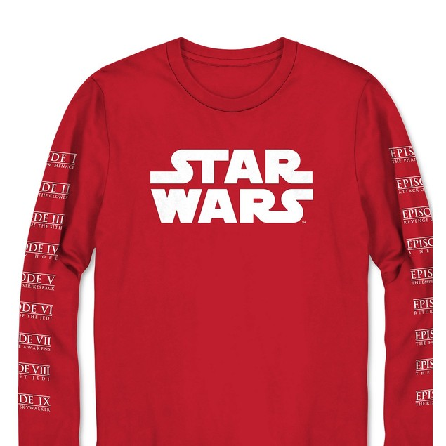 Star Wars Men's Graphic Sweatshirt Red Size Large