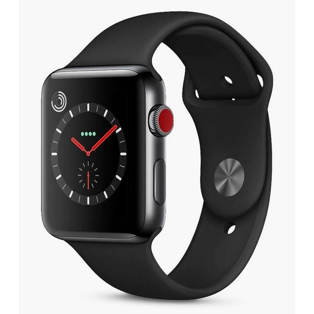 Apple Watch Series 3 42mm, Unlocked, Black, 16 in, 1.65 in Screen