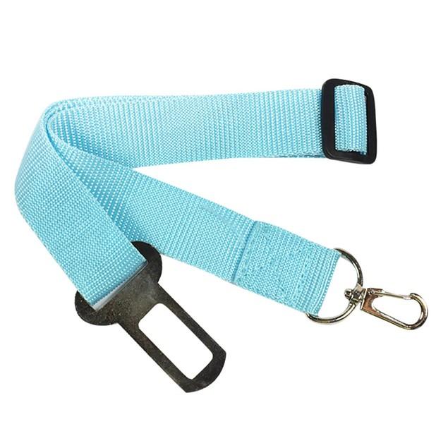 New Adjustable Dog Pet Car Safety Seat Belt Restraint Lead Travel Leash