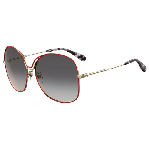 Givenchy Women Sunglasses GV7144S Y11 Gold Red 61 15 140 Oval