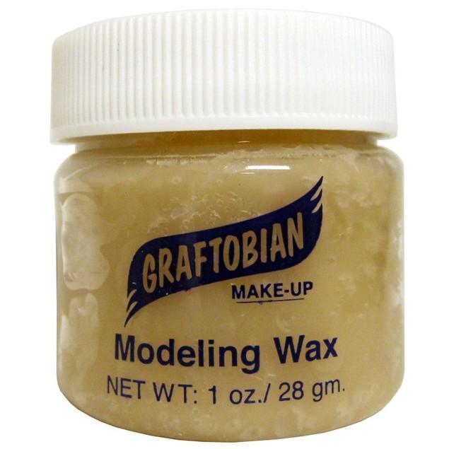 Light Flesh - Modeling Wax 1oz. Graftobian Cruelty Free USA Professional