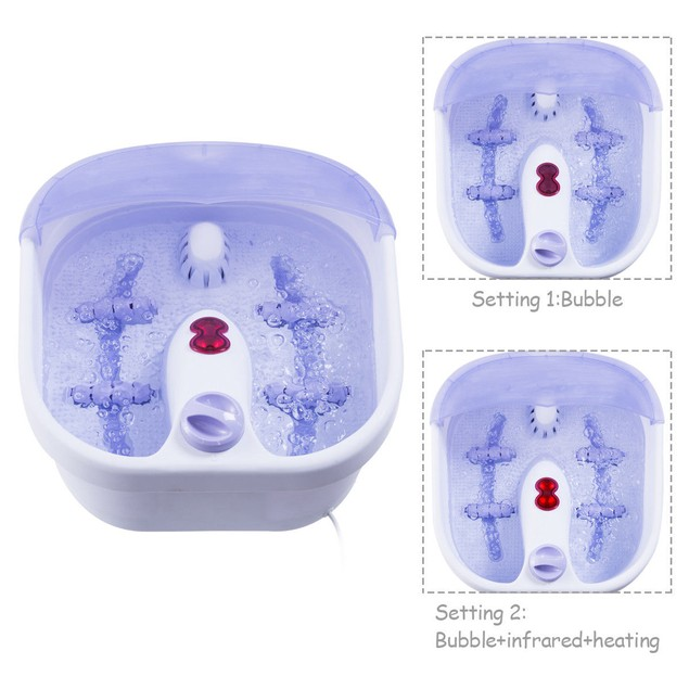 Electrical Foot Tub Basin Point Massage Therapy Machine